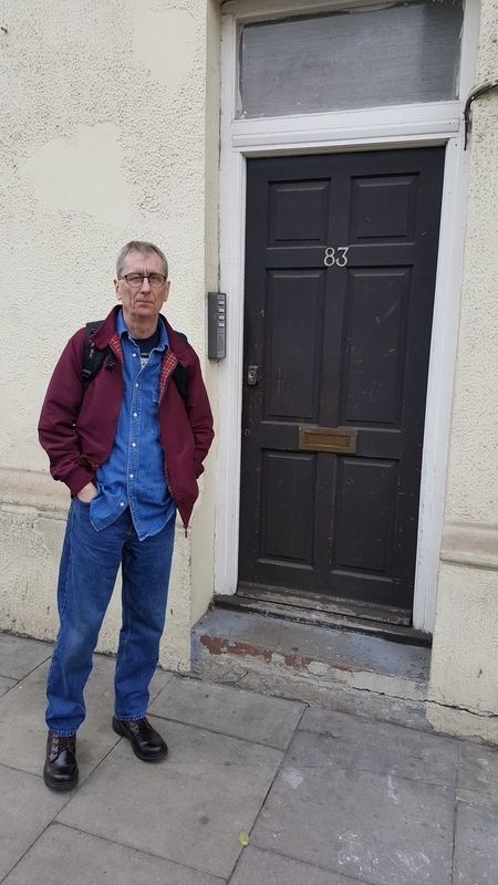 Phil Ruff at the door of Centro Iberico (2018)