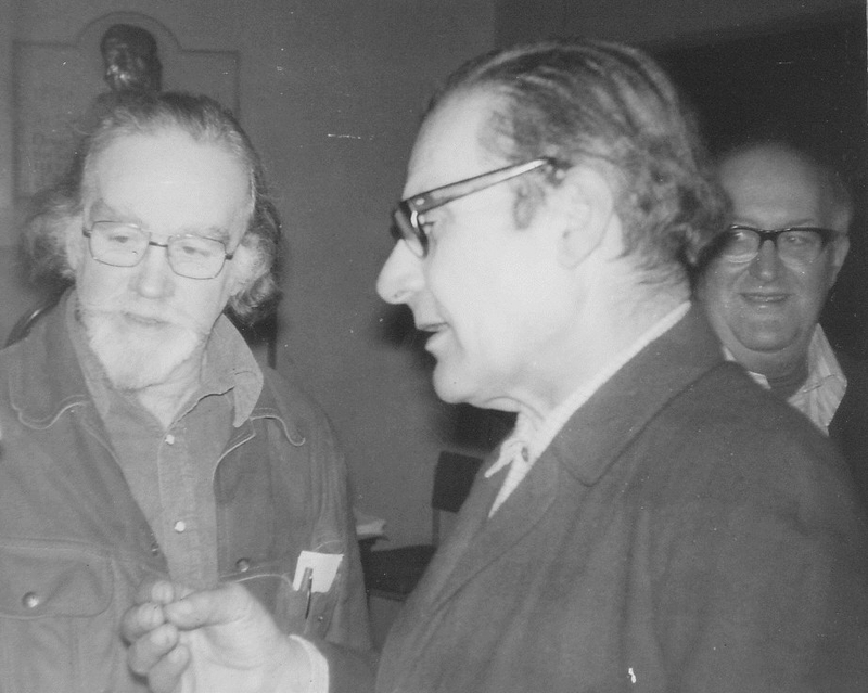 Philip Sansom, Miguel Garcia and Albert Meltzer, Conway Hall 1976
