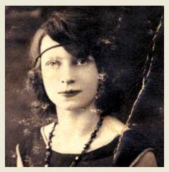 Georgette Kokoczinski (la mimosa) portrait