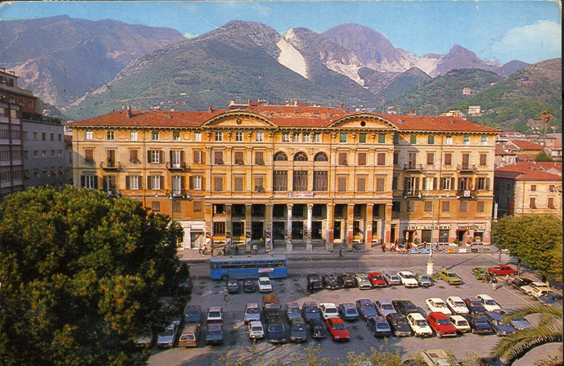 HQ of the Italian Anarchist Federation in Carrara (Piazza Matteotti)