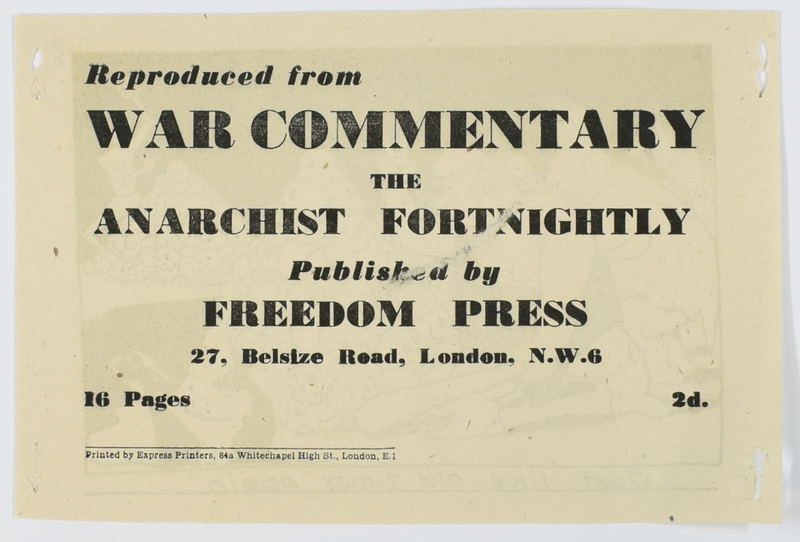 The Freedom Press Anarchists and H.M. Forces page 12