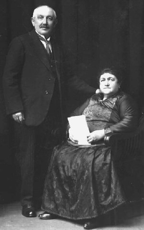 5 Albert Meltzer's grandparents