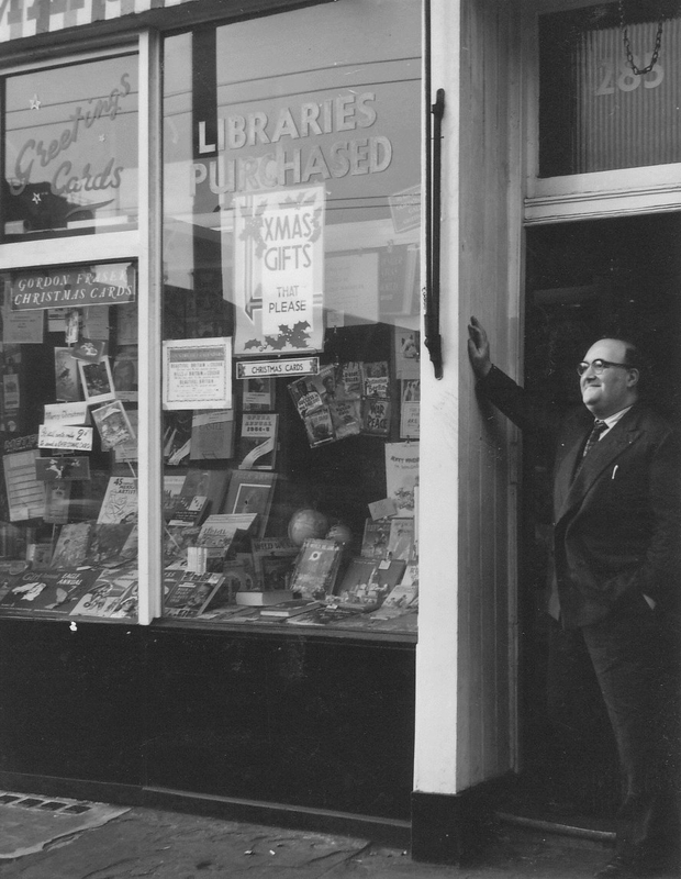 Albert Meltzer's bookshop