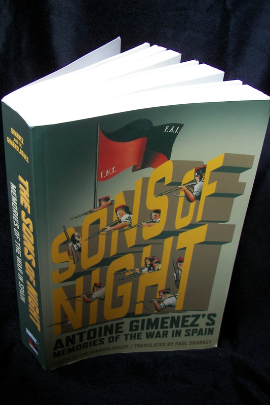 Sons of Night: Antoine Gimenez's Memories of the War in Spain is out
