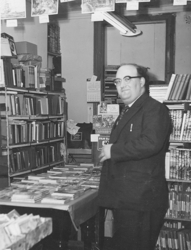 Albert Meltzer's bookshop, interior