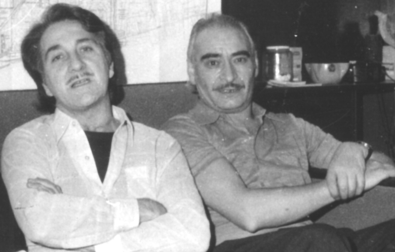 Octavio Alberola and Antonio Téllez